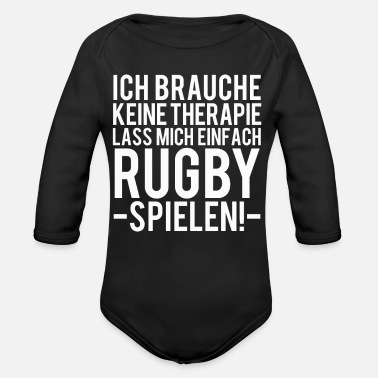 Rugby Rugby - Baby Bio-Langarm-Body