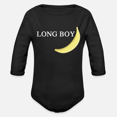 Long Long boy - Organic Long-Sleeved Baby Bodysuit