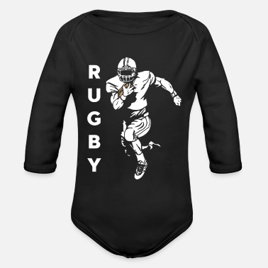 Rugby Le rugby - Body bébé bio manches longues