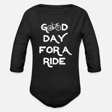 Bicycle Outdoor Sport Driver Cool Gift - Organic Long-Sleeved Baby Bodysuit