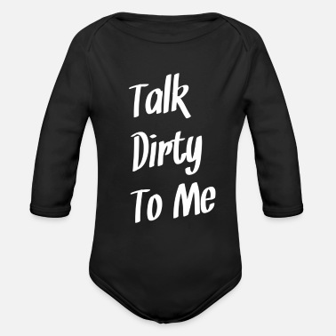 Sexy Mum Sexy - Organic Long-Sleeved Baby Bodysuit