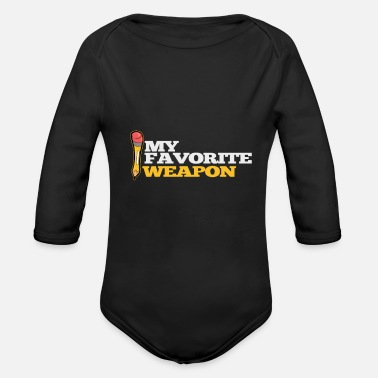 Artist Drawing artist painter artist and artist - Organic Long-Sleeved Baby Bodysuit