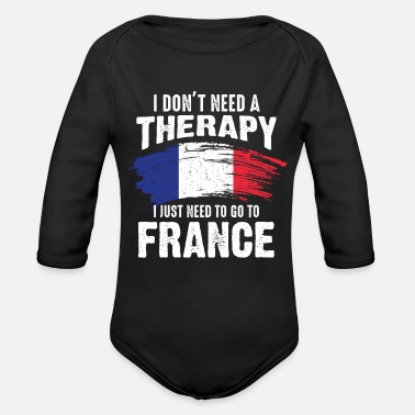 Home Country France home country - Organic Long-Sleeved Baby Bodysuit
