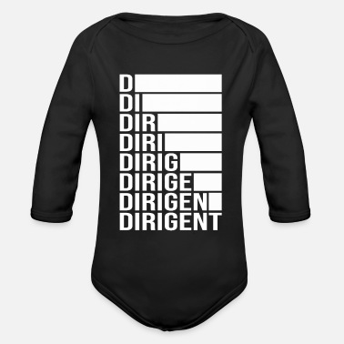Dirigent Rod conductor - Organic Long-Sleeved Baby Bodysuit