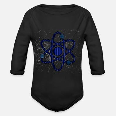 Atom atom - Organic Long-Sleeved Baby Bodysuit