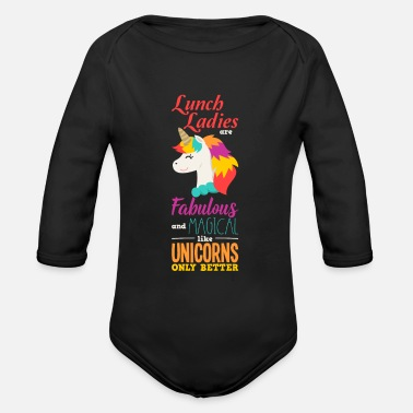 Lunch Lady Lunch lady - Organic Long-Sleeved Baby Bodysuit