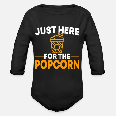 Popcorn Popcorn Movie Night Cadeau - Rompertje met lange mouwen