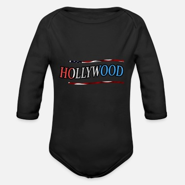 Hollywood Hollywood - Body ecologico per neonato a manica lunga