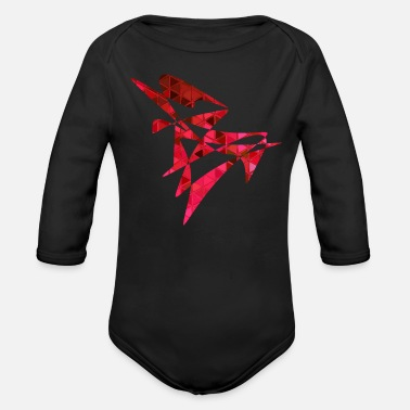 Vector Vector red - Organic Long-Sleeved Baby Bodysuit