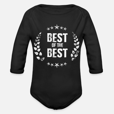 Best Of Best of the Best - Ekologisk långärmad babybody