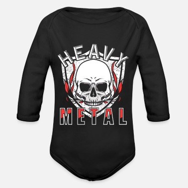 Heavy Metal Heavy Metal - Baby Bio Langarmbody