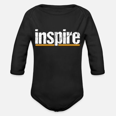 Inspiration inspire - Organic Long-Sleeved Baby Bodysuit