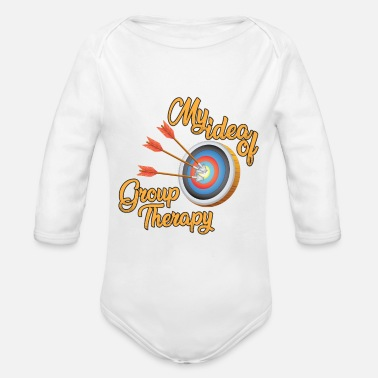 Therapy therapy - Organic Long-Sleeved Baby Bodysuit