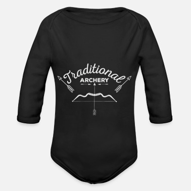 Tradition Traditional archery - Organic Longsleeve Baby Bodysuit