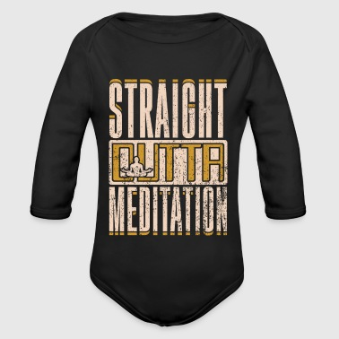Right out of the meditation gift idea - Organic Longsleeve Baby Bodysuit
