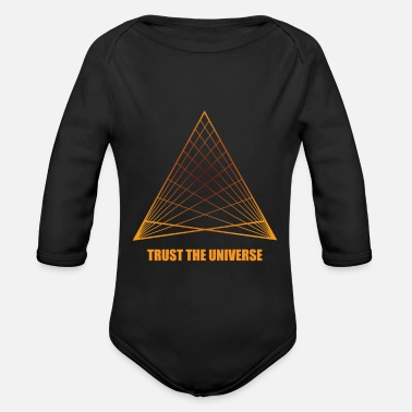 Geometry geometry - Organic Long-Sleeved Baby Bodysuit