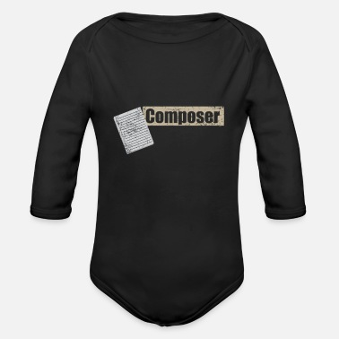 Composer Composer - Organic Long-Sleeved Baby Bodysuit