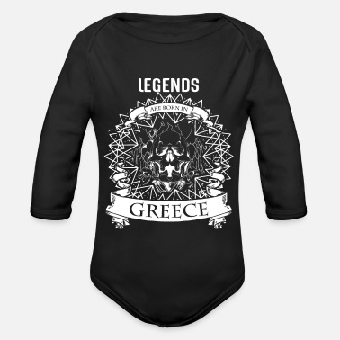Mythology Greece mythology - Organic Longsleeve Baby Bodysuit