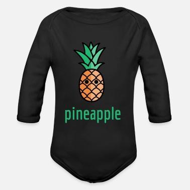 Ananas ananas - Ekologisk långärmad babybody ee2ce765d2ce7