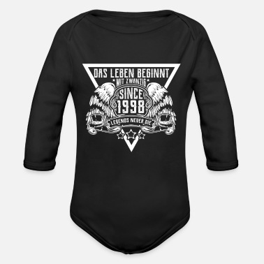 20th Birthday 20th birthday - Organic Longsleeve Baby Bodysuit