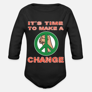 Revolutionary This is the awesome revolutionary Tshirt Those - Organic Longsleeve Baby Bodysuit