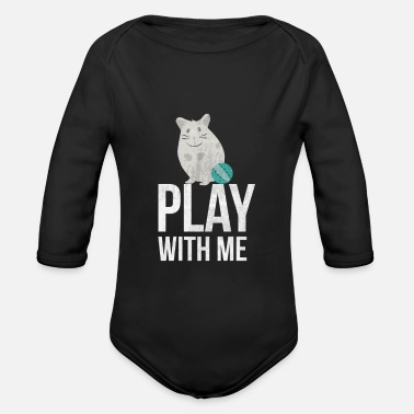 Rodent rodent - Organic Longsleeve Baby Bodysuit