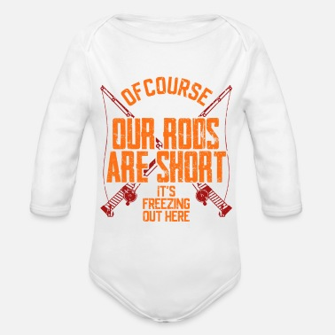 Rod Rods are short - Organic Long-Sleeved Baby Bodysuit