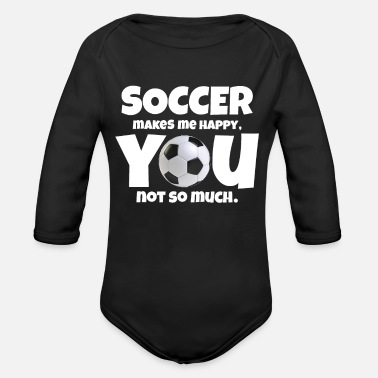 Soccer Soccer soccer soccer gift - Body bébé bio manches longues