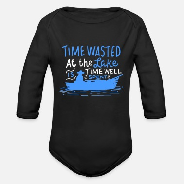 Boat Boating - Boat - Boating - Organic Long-Sleeved Baby Bodysuit