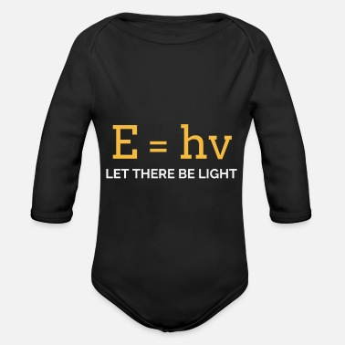 Light light - Organic Long-Sleeved Baby Bodysuit