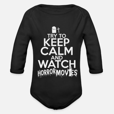 Horror Film horror film - Organic Long-Sleeved Baby Bodysuit