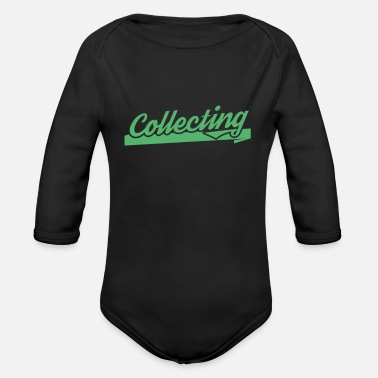 Collector collector - Organic Long-Sleeved Baby Bodysuit