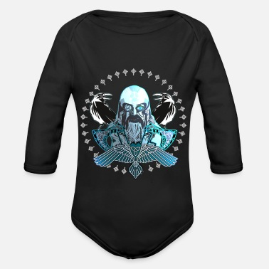 Odin Odin - Organic Long-Sleeved Baby Bodysuit