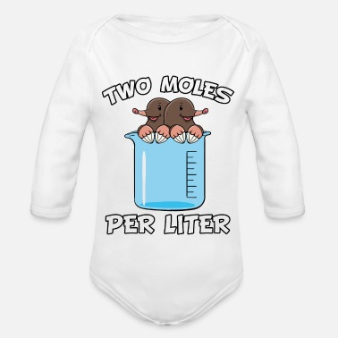 Labouratory Chemiker Chemie Student Witz Uni Labor Geschenk - Organic Long-Sleeved Baby Bodysuit