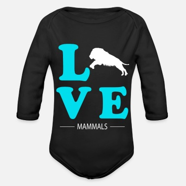 Mammal Mammal - Organic Long-Sleeved Baby Bodysuit