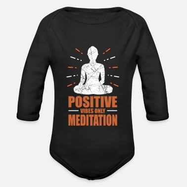 Buddhism Buddhism - Organic Long-Sleeved Baby Bodysuit