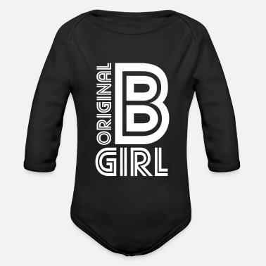 B-girl B-Girl Breakdance Girl - Baby Bio Langarmbody