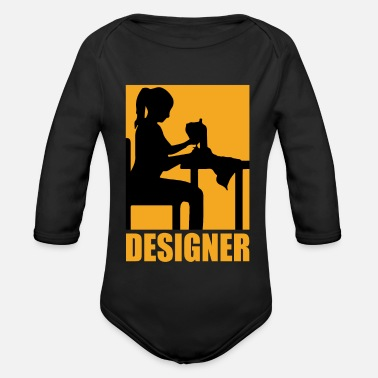 Design Designer design - Organic Long-Sleeved Baby Bodysuit
