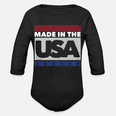 Usa USA - Made in USA - Baby Bio Langarmbody