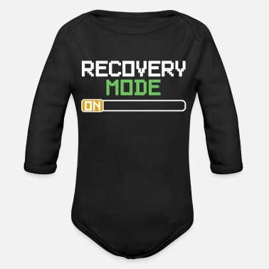 Stand Recovery Mode Get well soon recovery gift - Organic Long-Sleeved Baby Bodysuit