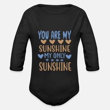 Wilderness You are my - Adventure Design - Organic Long-Sleeved Baby Bodysuit