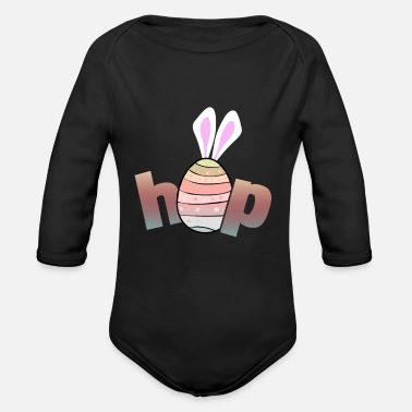 Easter Egg Easter eggs Easter eggs Easter basket Easter - Organic Long-Sleeved Baby Bodysuit
