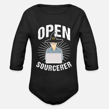 Sourcerer Open Sourcerer - Organic Long-Sleeved Baby Bodysuit
