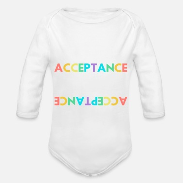 Acceptance Empowers - Organic Long-Sleeved Baby Bodysuit