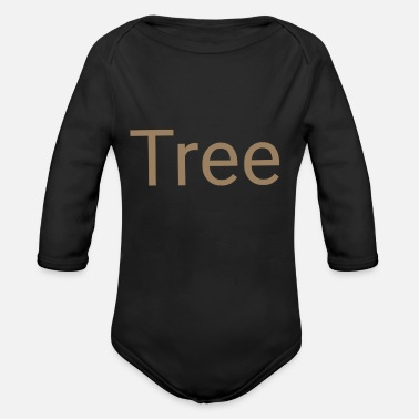 Environmentally Friendly Tree environmentally friendly environmentally friendly gift - Organic Long-Sleeved Baby Bodysuit