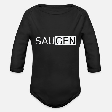 Suck Suck - Organic Long-Sleeved Baby Bodysuit