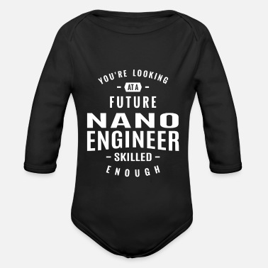 Nano Nano Engineer - Organic Long-Sleeved Baby Bodysuit
