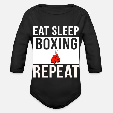Kick Boxing - Organic Long-Sleeved Baby Bodysuit