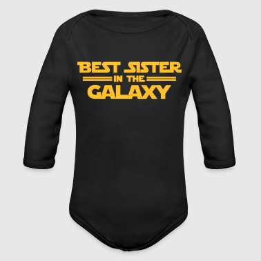 Best Sister in the Galaxy - Baby Bio-Langarm-Body