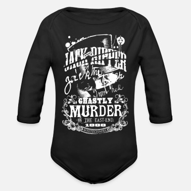 Ripper Jack the Ripper - Organic Long-Sleeved Baby Bodysuit